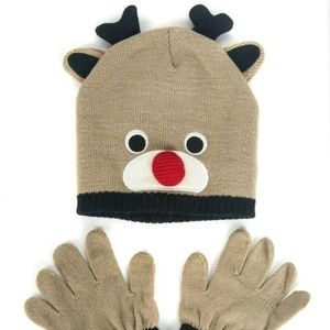 Other - Hat and gloves set for kids